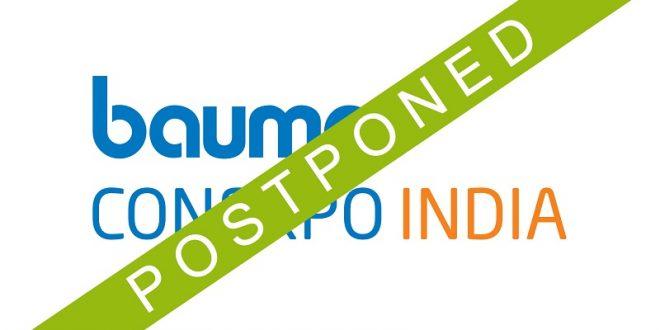 bauma india postponed