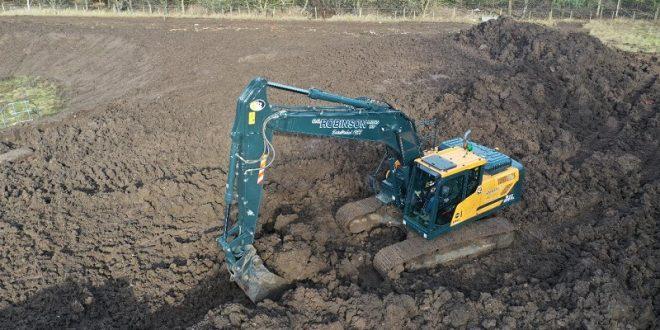 HX210A Hyundai crawler excavator