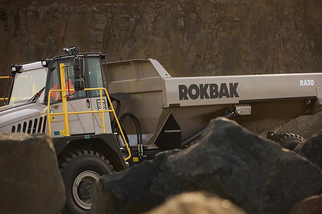Rokbak Terex Trucks